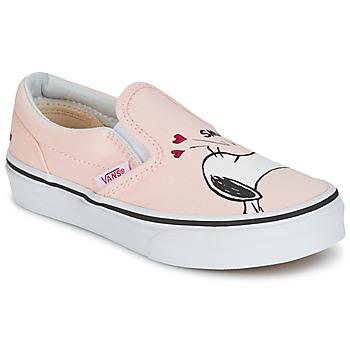 Sko Pige Slip-on Vans TD CLASSIC SLIP-ON SNOOPY Pink