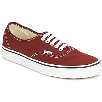 Sko Lave sneakers Vans AUTHENTIC Rød