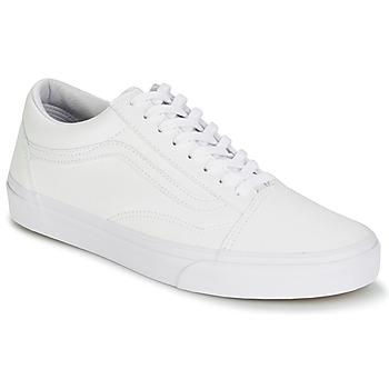 Sko Lave sneakers Vans OLD SKOOL Hvid