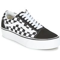 Sko Dame Lave sneakers Vans UA OLD SKOOL PLATFORM Sort / Hvid