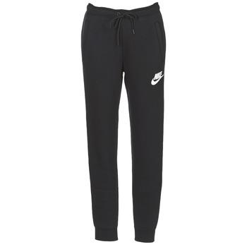 textil Dame Træningsbukser Nike RALLY PANT Sort / Hvid