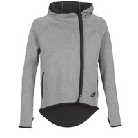 textil Dame Sweatshirts Nike TECH FLEECE CAPE FZ Grå