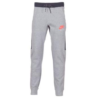 textil Herre Træningsbukser Nike AIR JOGGER FLEECE Grå / Rød