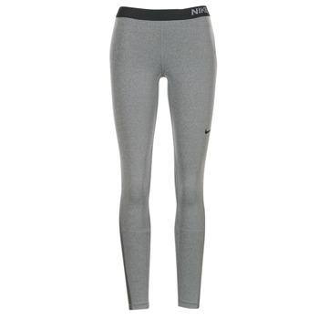 textil Dame Leggings Nike NIKE PRO TIGHT Grå / Sort