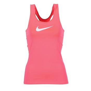 textil Dame Toppe / T-shirts uden ærmer Nike NIKE PRO COOL TANK Pink / Hvid