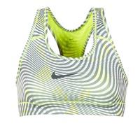 textil Dame Sports-BH Nike NIKE PRO CLASSIC BRA Gul / Grå