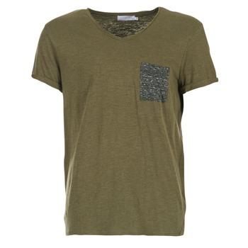 textil Herre T-shirts m. korte ærmer Eleven Paris ABICO KAKI