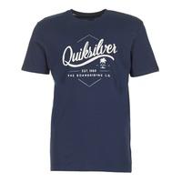 textil Herre T-shirts m. korte ærmer Quiksilver CLATESEATALES Marineblå