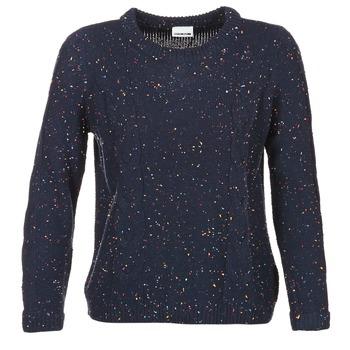 textil Dame Pullovere Noisy May DOT Marineblå