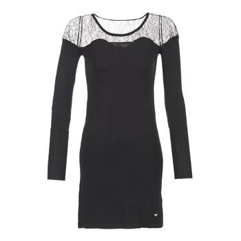 textil Dame Korte kjoler Les Petites Bombes DARTO Sort