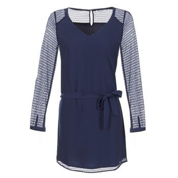 textil Dame Korte kjoler Les P'tites Bombes MALIS Marineblå