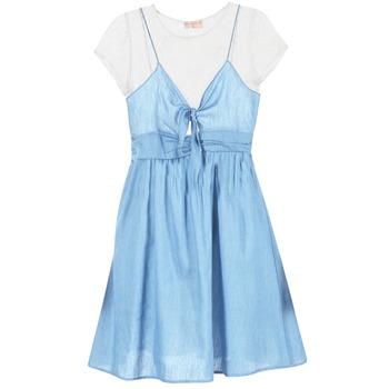 textil Dame Korte kjoler Moony Mood GLAM Blå