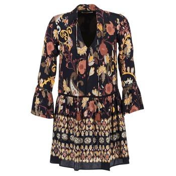 textil Dame Korte kjoler Derhy DEGUSTATION Sort / Flerfarvet