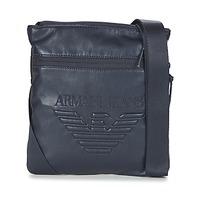 Tasker Herre Punge / Håndledstasker Armani jeans GIBOU Marineblå