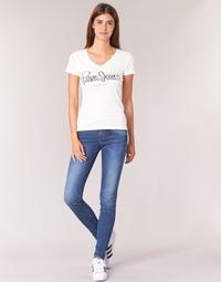 textil Dame Jeans - skinny Pepe jeans SOHO Z63 / Blå / Medium