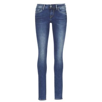 textil Dame Smalle jeans Pepe jeans SOHO Z63 / Blå / MEDIUM