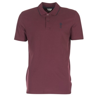 textil Herre Polo-t-shirts m. korte ærmer Jack & Jones STONE CORE Bordeaux