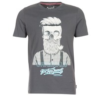 textil Herre T-shirts m. korte ærmer Jack & Jones CRIPTIC ORIGINALS Grå