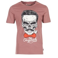 textil Herre T-shirts m. korte ærmer Jack & Jones CRIPTIC ORIGINALS Pink