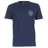 textil Herre T-shirts m. korte ærmer Jack & Jones ORGANIC ORIGINALS Marineblå