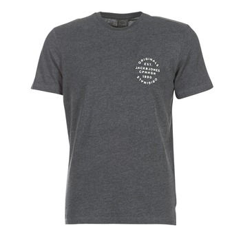 textil Herre T-shirts m. korte ærmer Jack & Jones ORGANIC ORIGINALS Grå