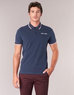 textil Herre Polo-t-shirts m. korte ærmer Jack & Jones WAZ ORIGINALS Marineblå