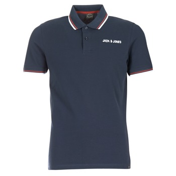 textil Herre Polo-t-shirts m. korte ærmer Jack & Jones WAZ ORIGINALS Marineblå