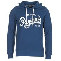 textil Herre Sweatshirts Jack & Jones HAWL ORIGINALS Blå