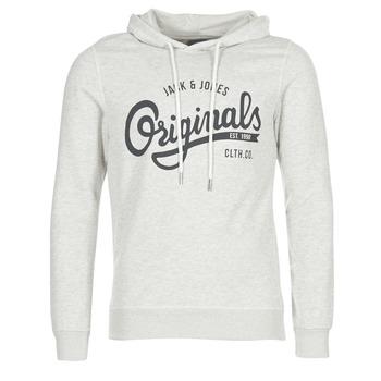 textil Herre Sweatshirts Jack & Jones HAWL ORIGINALS BEIGE