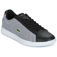 Sko Dame Lave sneakers Lacoste CARNABY EVO 117 1 SPW Sort