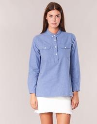 textil Dame Skjorter / Skjortebluser Armor Lux GRICHA Blå