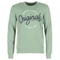 textil Herre Sweatshirts Jack & Jones SWEEP ORIGINALS Grøn