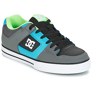 Sko Herre Skatesko DC Shoes PURE Grå / Grøn / Blå