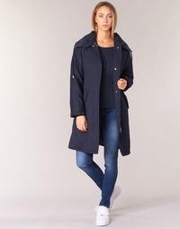 textil Dame Trenchcoats Armani jeans MERCHA Marineblå