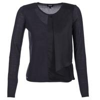 textil Dame Pullovere Armani jeans JAUDO Marineblå