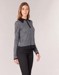 textil Dame Pullovere Armani jeans LAMAC Grå