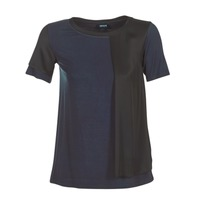 textil Dame T-shirts m. korte ærmer Armani jeans DRANIZ Marineblå / Sort
