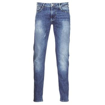 textil Herre Smalle jeans Armani jeans LORETTE Blå
