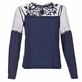 textil Dame Toppe / Bluser Vero Moda JOSEFINE Marineblå