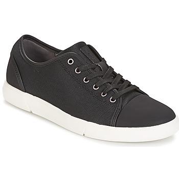 Sko Herre Lave sneakers Clarks Lander Cap Sort