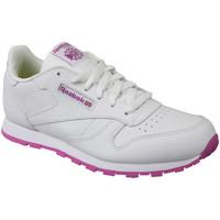 Sko Børn Lave sneakers Reebok Sport Classic Leather BS8044 White