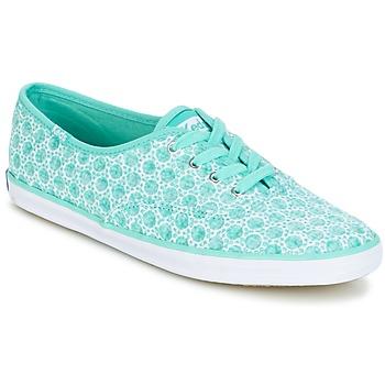 Sko Dame Lave sneakers Keds CH EYELET Aqua