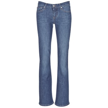 textil Dame Bootcut jeans Yurban IHEKIKKOU BOOTCUT Blå / Medium