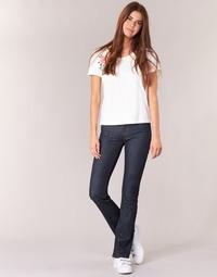 textil Dame Bootcut jeans Yurban IHEKIKOU BOOTCUT Blå