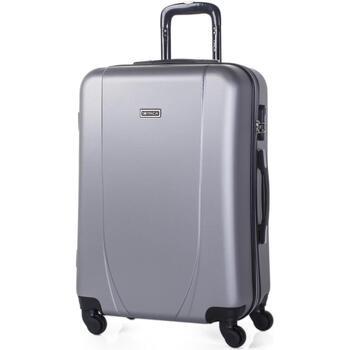 Tasker Hardcase kufferter Itaca Tiber Sølv