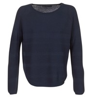 textil Dame Pullovere Only CAVIAR Marineblå