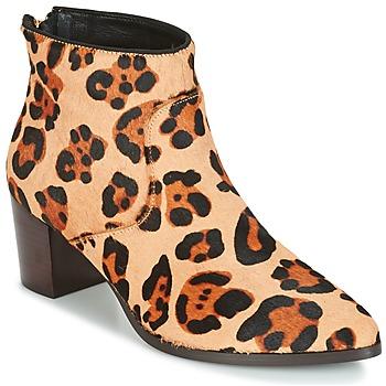 Sko Dame Høje støvletter Bocage MELODY Leopard