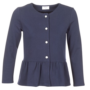 textil Dame Veste / Cardigans Betty London HABOUME Marineblå