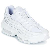 Sko Dame Lave sneakers Nike AIR MAX 95 W Hvid