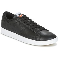 Sko Dame Lave sneakers Nike BLAZER LOW LEATHER W Sort